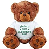 Anton's 1st St Patrick's Day: Medium Plush Teddy Bear