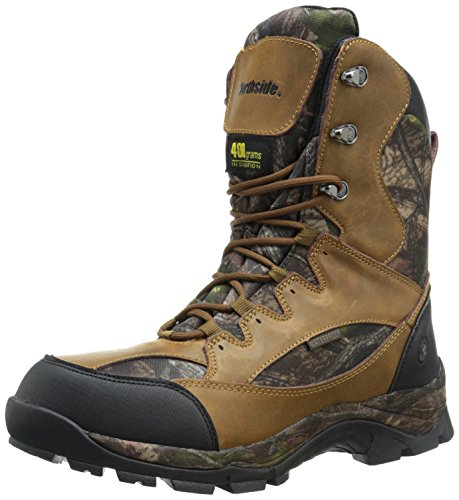 Northside Men's Renegade 400 Hunting Boot, Tan Camo, 9 M US