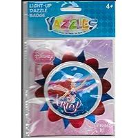 Yazzles Disney Princess Ariel Light-up Dazzle Badge