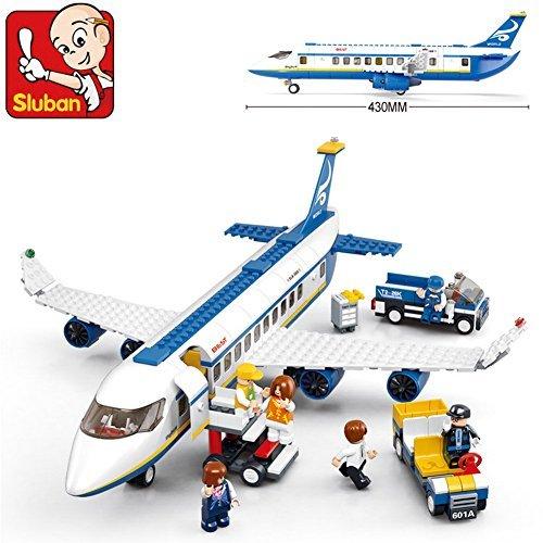 Sluban Building Block Plane City Airport Cargo Terminal B0366 463pcs