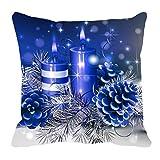 MeSleep Merry Christmas Cushion Covers In Digital Print - B018K9JVIO