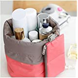 Makeup Bag Waterproof Travel Kit, Organizer Bathroom Storage Cosmetic Bag With A Mini Bag, Jewelry Organizer,Men...
