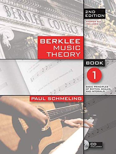Berklee Music Theory Book 1 (Book/online audio) 2nd Edition