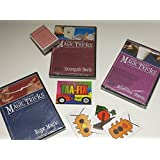 Amazing Easy To Learn Magic Tricks: Rope Magic Dvd, Pro Brand Bridge Size Svengali Deck With Dvd, Magic With Everyday...
