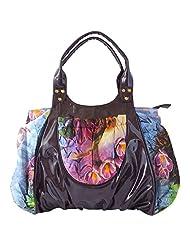 Stylocus - Ladies Faux Leather Bags-Digital Print Bag -Travelling Bag - Tote Bag