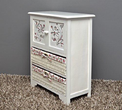 Country House Dresser disimpegno mobiletto del bagno 60 x 73 cm Mensola credenza con legno ...