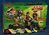 Jurassic Park D.A.R.T. Dino Auto Restraint Transport Vehicle w/ Roland Tembo Action Figure...