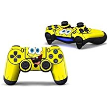 Elton PS4 Controller Designer 3M Skin For Sony PlayStation 4 DualShock Wireless Controllers (set Of Two Controllers Skin) - Spongebob