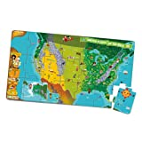LeapFrog LeapReader Interactive United States Map Puzzle (works With Tag)