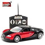 Radio Remote Control 1/14 Scale Bugatti Veyron 16.4 Grand Sport RC Car W/Batteries Ready To Run (Red)