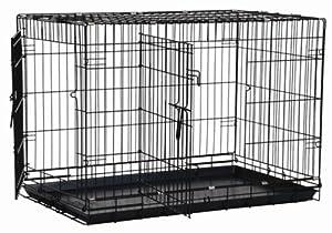 Amazon.com : Precision Pet Black Great Crate : Pet Kennels