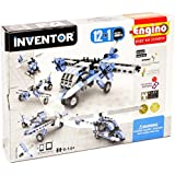 Engino Inventor Build 12 Aircraft Models Building Kit, Multi Color