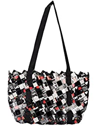 ANULIFE Tetra Pack Papers Black Reusable Shopping Bag