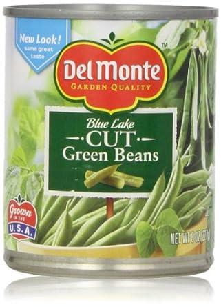 Amazon.com: Del Monte Cut Green Beans, 8 Oz: Prime Pantry
