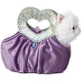 Aurora World Fancy Pals Plush Toy Pet Carrier, Lavender Heartfelt
