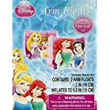 Disney Princess Ariel, Belle, Rapunzel, & Snow White Set Of 2 Swimming Pool Arm Floats