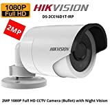 HIKVISION DS-2CE16D1T-IRP Full HD1080P (2MP) CCTV Camera Bullet