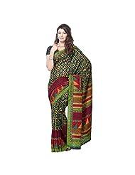 Art Silk Fabric Multi Color Color By 101cart - B00PVVNHKS