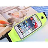 Running Belt Waist Pack With Zipper For IPhone 6 6S 6 Plus 6S Plus Samsung Galaxy S5 S6 S7 Edge Note 3 4 5 LG G3 G4 G5 With OtterBox LifeProof Waterproof Case G