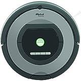 iRobot Roomba 772 Staubsaug-Roboter (1 Virtuelle Wand/ Dirt Detect Serie 2) silber/schwarz