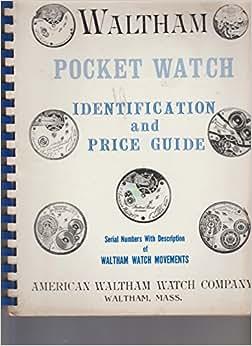 Waltham pocket watch serial number list