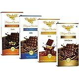 Chocholik Belgium Chocolate - Chocolates Luscious Chocolate Bars, 4 X 100gms