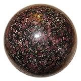 "Garnet Ball Biotite 11 Nice Authentic Almandine Mineral Rare Crystal Healing Sphere 2.8"""