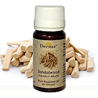 Devinez Sandalwood, Tea Tree Essential Oil For Electric Diffusers/ Tealight Diffusers/ Reed Diffusers, 30ml Each