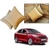 Car Vastra Cushion Pillow Set Beige Color For Car & Home For - Ford Figo Aspire
