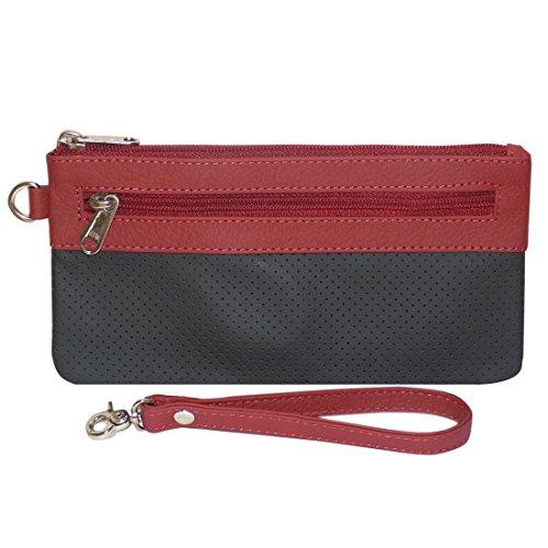 Style98 100% Leather Unisex Multi Purpose Toiletry Bag||Toiletry Kit||Toiletry Pouch||Handbag||Travel Toiletry...