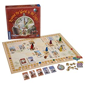 Click to buy Around the world in 80 days board game from Amazon!