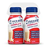 Ensure Complete Nutrition Shake, Vanilla, 8-Ounce, (Pack Of 4)