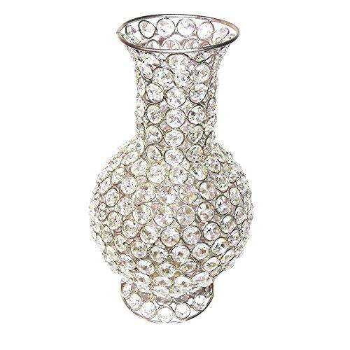 225 & M4 Design Decorative Crystal Beaded Flower Vase Best Deals ...
