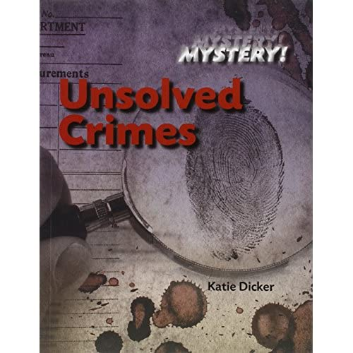Unsolved Crimes Dicker, Katie