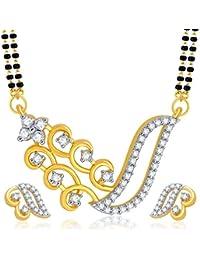 Sukkhi Marvellous Gold Plated CZ Mangalsutra Set For Women
