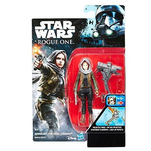 "Star Wars Rogue One Sergeant Jyn Erso (Jedha) 3.75"" Action Figure Wave 2"