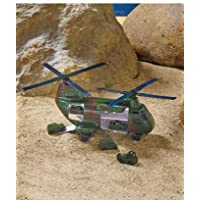 Micromax Military Transport Helicopter With Mini Vehicles