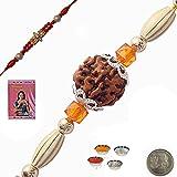 Little India Send Online Charming Handcrafted Beads Rakhi Rakhi Raksha Bandhan Gift Band Moli Bracelet Wristband...