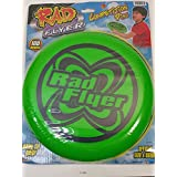 Enigmatoys Rad Flyer Green Competition Disc 180 Grams Words On Frisbee With Official Size & Weight Flying Disc Toy