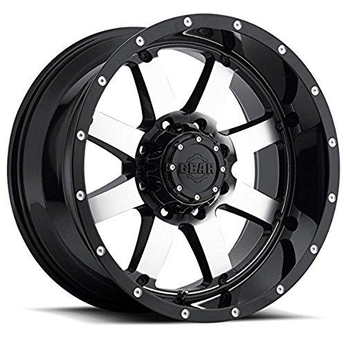 Gear Alloy 726M Big Block 17×9 6×135/6×139.7 -12mm Black/Machined Wheel Rim