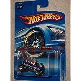 #2006-151 Radio Flyer Chrome Bars Collectible Collector Car Mattel Hot Wheels