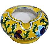 Shriyam Craft Ceramic Ash Tray (7 Cm X 4 Cm X 6 Cm)