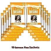 Cafe Desire Instant Lemon Tea Premix, 150g (10 Sachets) FREE SHIPPING