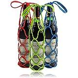Inovera 3 Pcs Silicon Bottle Carrier & Bottle Holder (Multi)