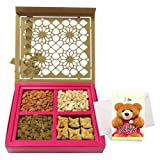 Marvelous Collection Of Dry Fruits And Baklava With Sorry Card - Chocholik Chocolate Premium Gifts