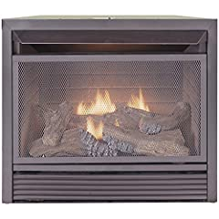 Duluth Forge Dual Fuel Vent Free Fireplace Insert - 26,000 BTU, Remote Control