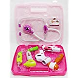 Instabuyz Battery Operated Multi Color Doctor's Kit With Light Sound Effects