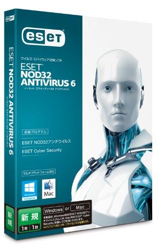 ESET+NOD32アンチウイルス+V6.0+Windows%2FMac対応
