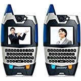 E Smart Eye Spy Night Vision Walkie Talkies With Live Video, Text And Integrated Microphones (Great Fun Gift For...