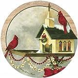 Christmas In The Garden Coaster (Set Of 4)